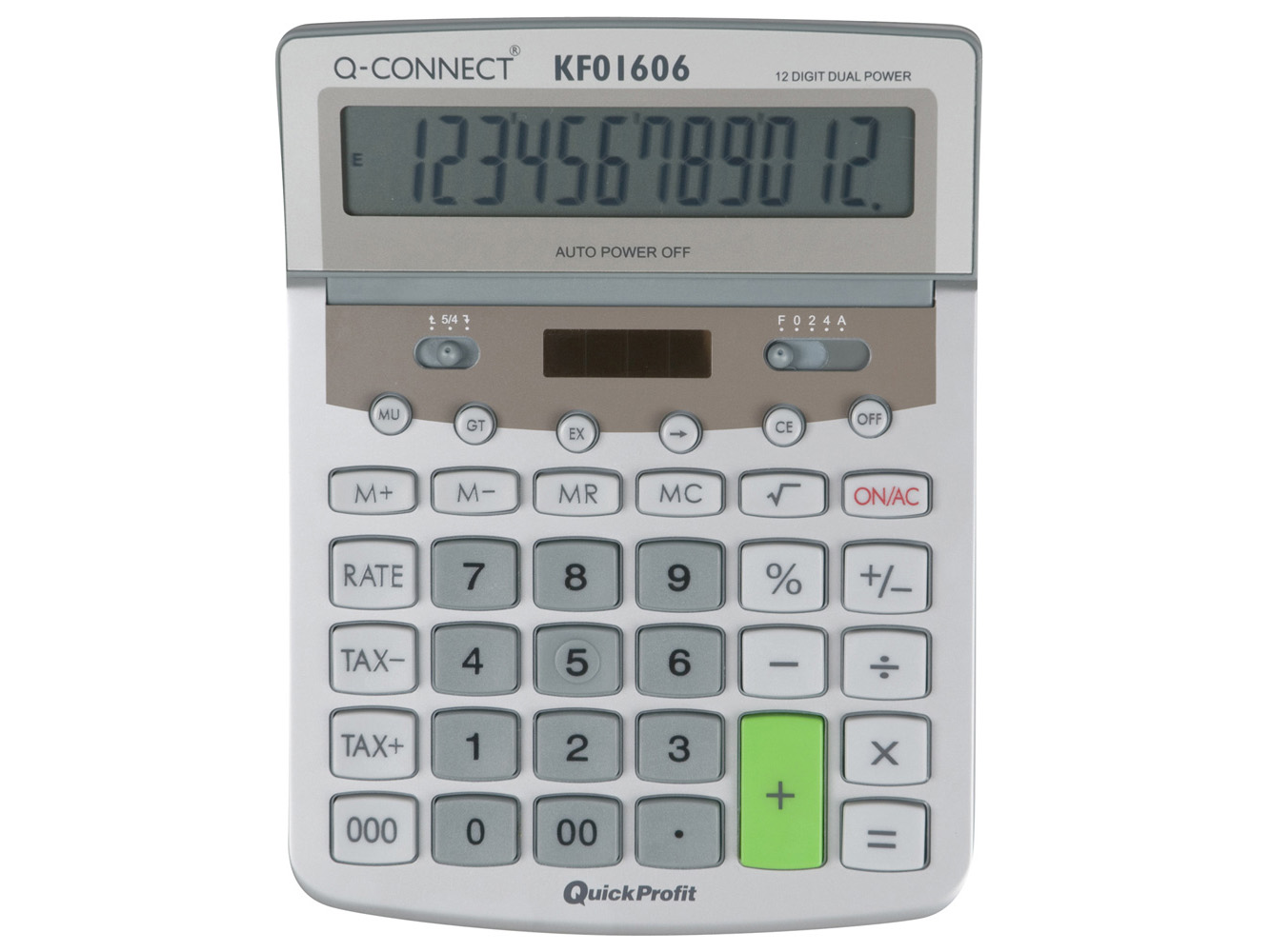 large table top basic calculator q connect