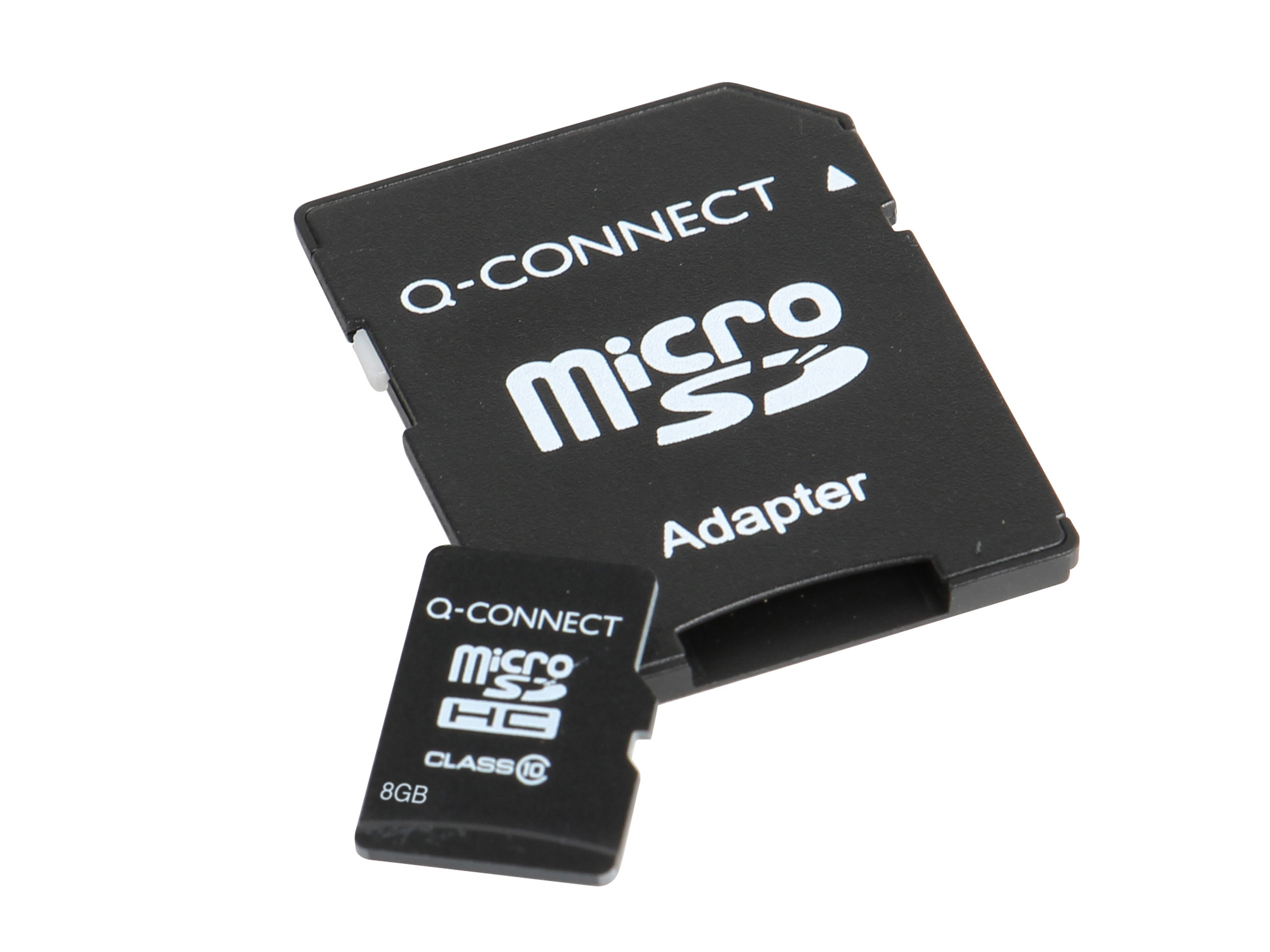 How to connect a memory card
